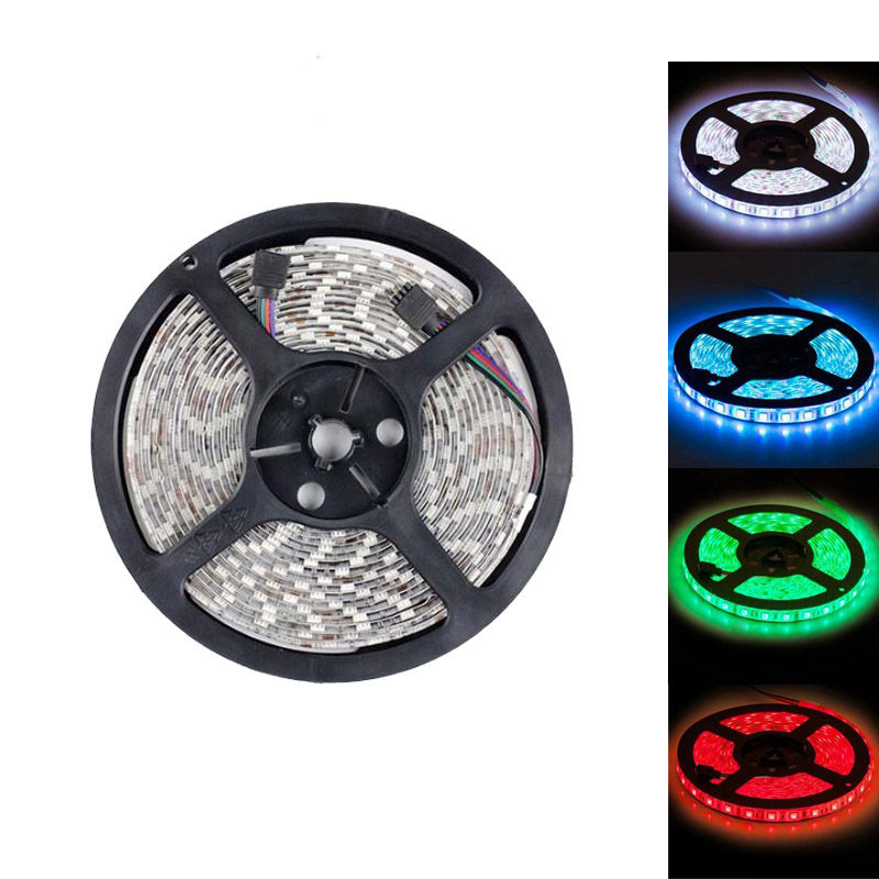 12V 5050 300 leds Waterproof 100m RGB LED Strip light for Outdoor Indoor with 3M tape 3 Year Warranty by DHL
