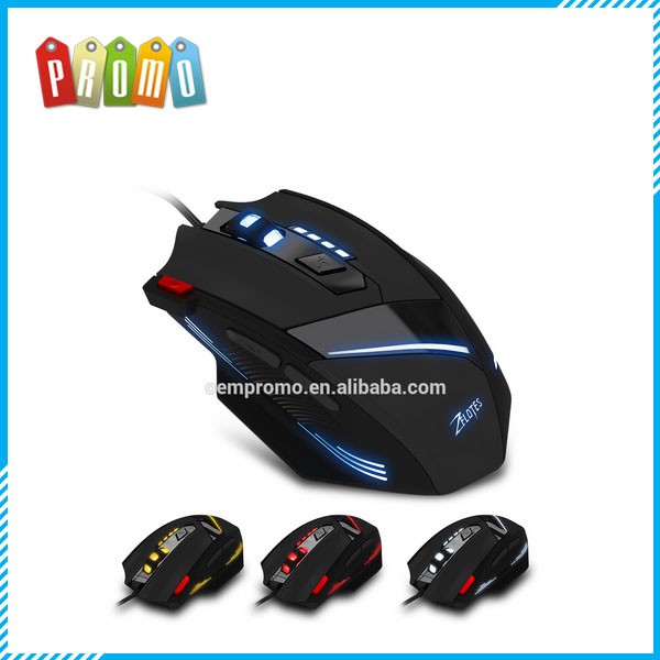 USB Wired Optical 7200DPI 7 Buttons Gaming Mouse