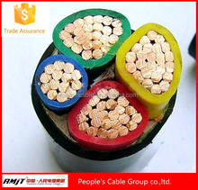 Power electric underground 0.6/1kv cu/xlpe/swa/pvc power cable