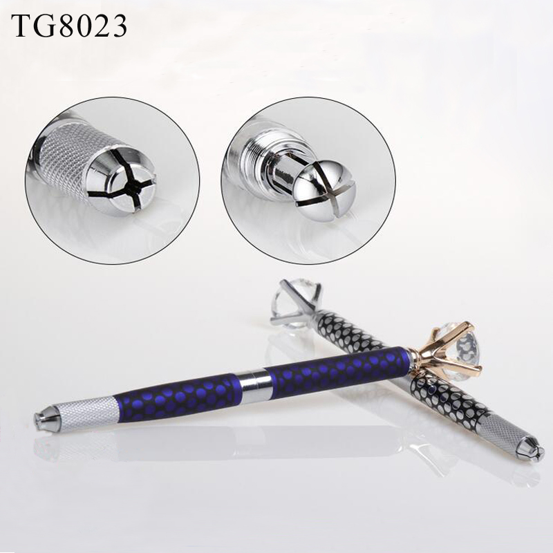 Guangzhou Microbalding Eyebrows Supplies Wholesale High Quality Eyebrow Tattoo Pen/Manual Permanent Tattoo Pen