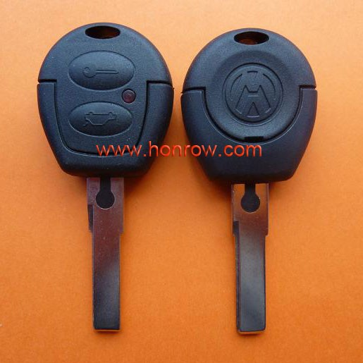 For Volkswagen VW Passat Polo Golf Sharan Bora 2 Button Remote Key Shell Case