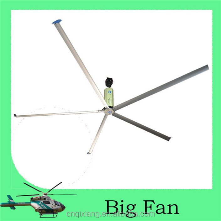 4.2m Large Size HVLS electric motor cooling fan blade