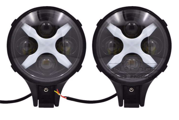 BJ-HL-039 offroad Truck Driving projector headlight ATV Spotlight Angle light for Jeep 4WD