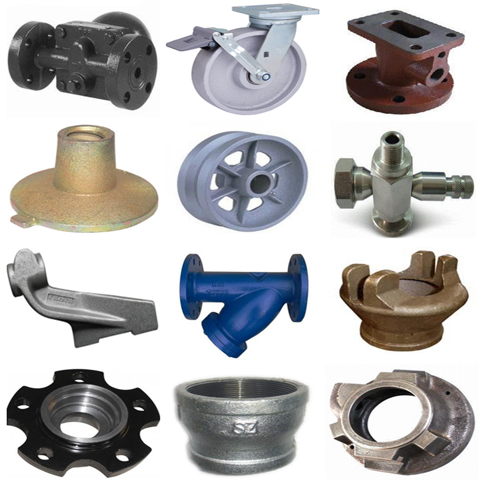 steel and brass textile machinery spare part with ISO quality