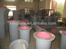 Abrasion Resist Ceramic Seamless Carbon Steel Pipeline