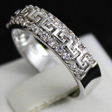 Sweet Couple Rings For Men And Women Copper Alloy wedding band