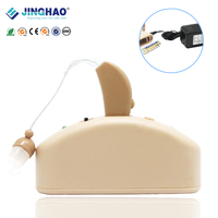 Hot Selling Ear Amplifier BTE Built-in Battery Rechargeable China Hearing Aid