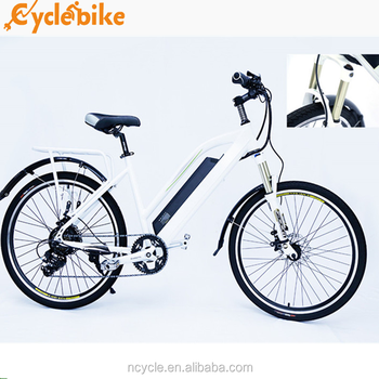 36v lady city electric bike With hidden lithium battery