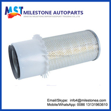Excavator parts air filter with leaves P148383