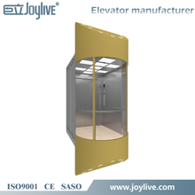 industrial travel panoramic elevator lift for sale