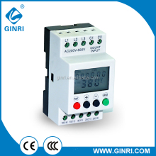 GINRI JVR800-1 Phase Loss Relay Three Phase Voltage Failure Relay Protection AC200-500V