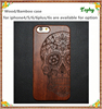 professional factory supply wooden prestigio mobile phone case with popular funny skull design