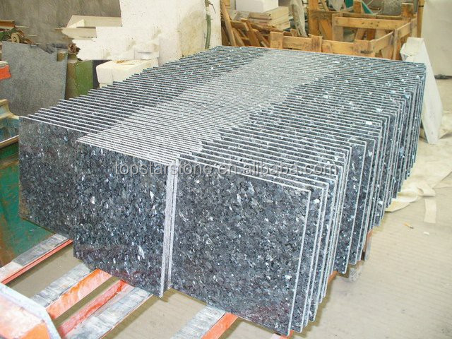 Natural stone Blue pearl granite tile
