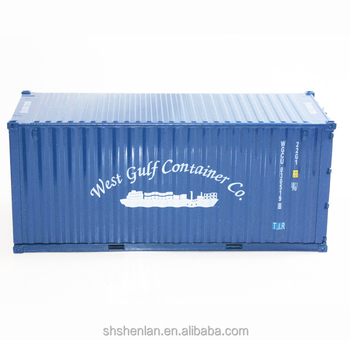 Gift Craft Shipping Container Models in scale 1:30
