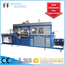 CHENGHAO hot selling semi-auto plastic disposable trays thermoforming machine