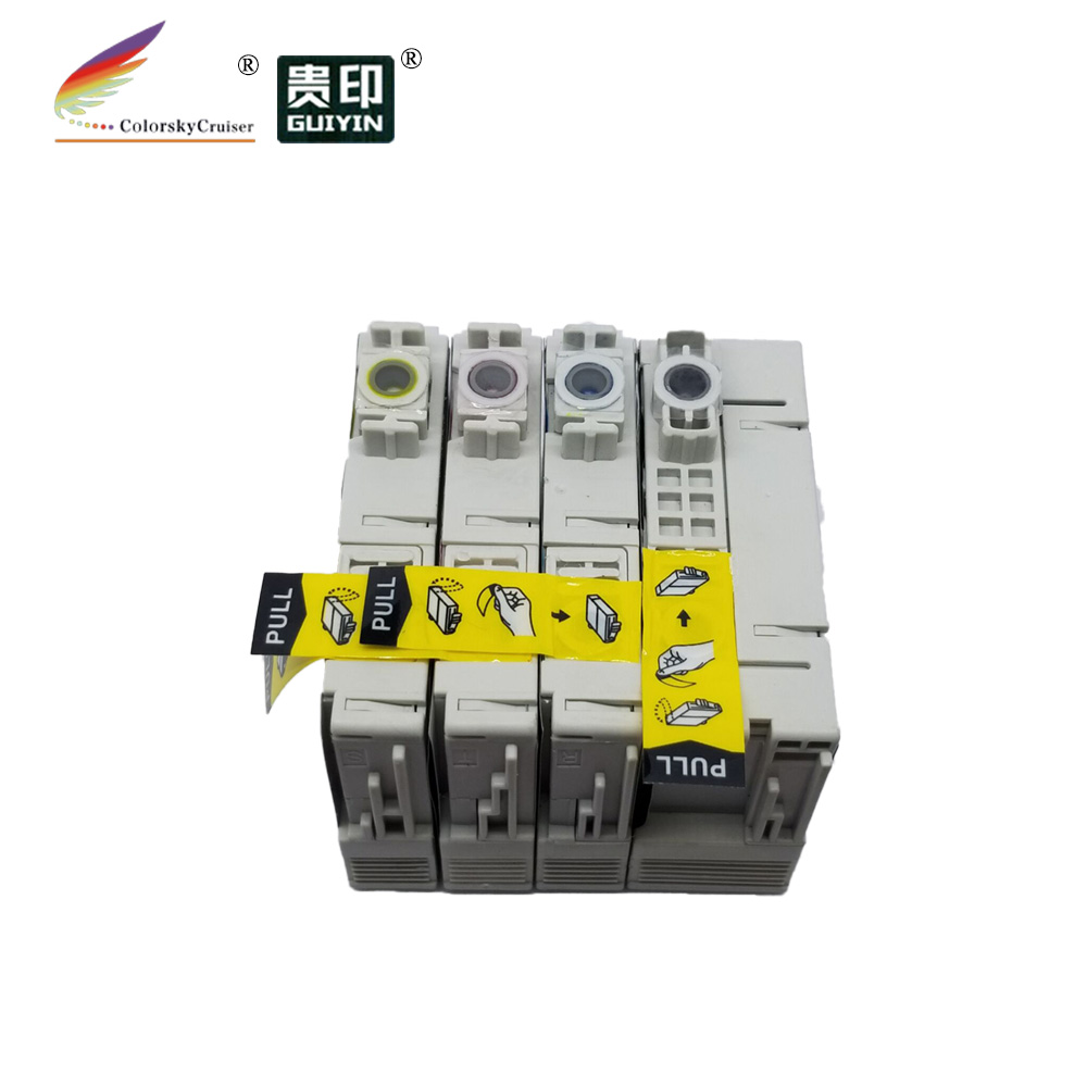 (RMCE127) re-manufactured remanufactured recycled ink cartridge for epson <strong>127</strong> 1271 T127 T1271 - T1274 bk <strong>c</strong> m y