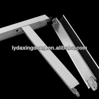 suspended ceiling/ gypsum board wall angle