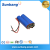 18650 battery pack li-ion battery 3.7v 4000mah for Eletric Toys