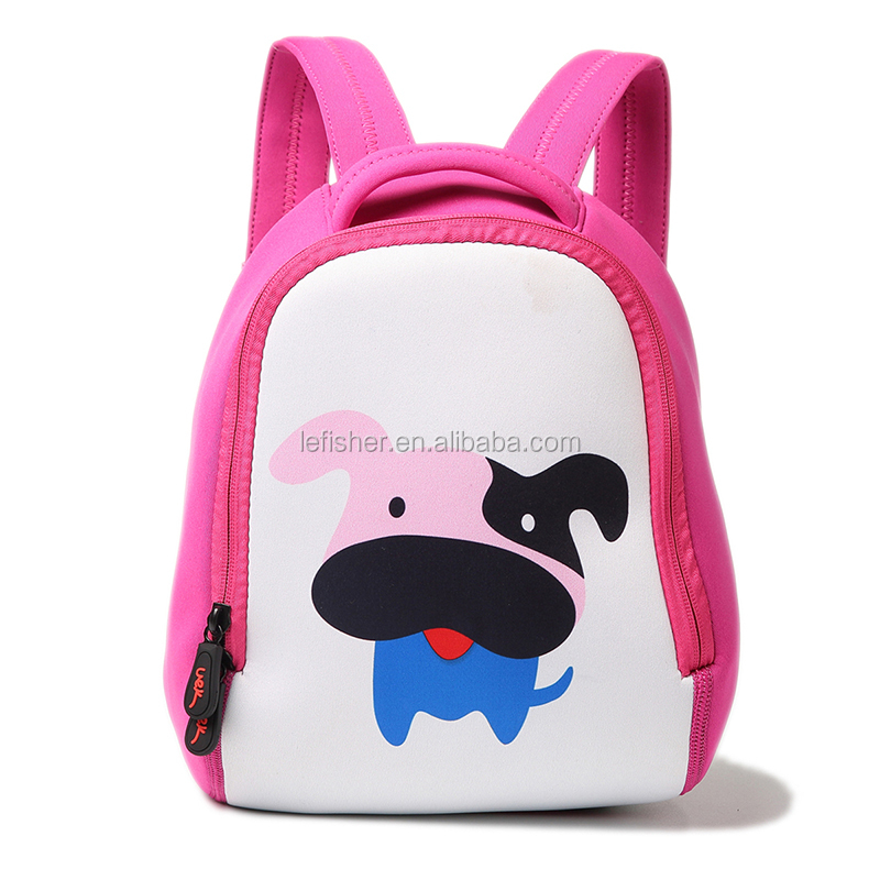 Pink Zoo Little Kid and Toddler Backpack,Lovely Dog Pattern Baby Backpack Bag