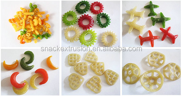 Potato slanty chip Extruder making machine