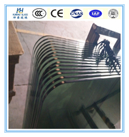 12mm thick tempered glass Rounded edge tempered glass table top