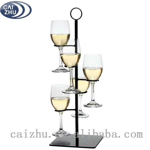 Metal Wine Glass Rack