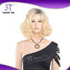 High quality fashion women retro short curly office lady synthetic wig