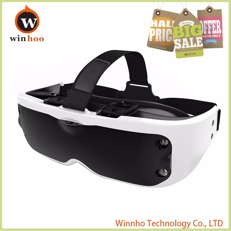 Winhoo fishion 3rd version VR BOX 3.0 with nice appearance vr eyes animal sexy movie with women