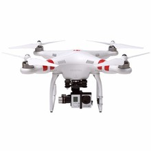 DJI Phantom 2 2.4GHz Quadcopter Remote Control Pilotless Plane with Zenmuse H3-3D Mount for GroPro Hero 3+ / 3