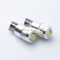 T10 168 192 W5W Factory Price MIT Projector Lens Car dome Lamps Auto Car Lights canbus error free 12V 6 led 5630 5730 smd