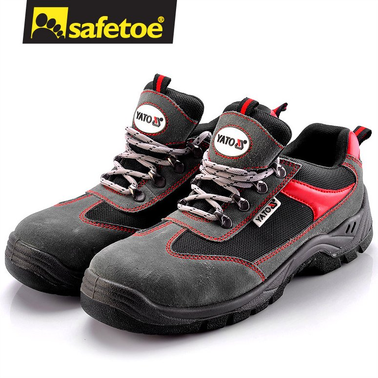Sports running man safety shoes, fashion safety footwear