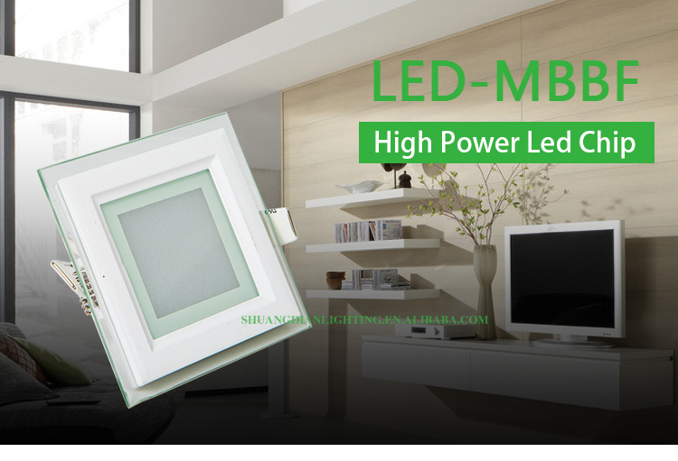 2016 new style backlight residencial led panel lamp,6w/24w small led panel light
