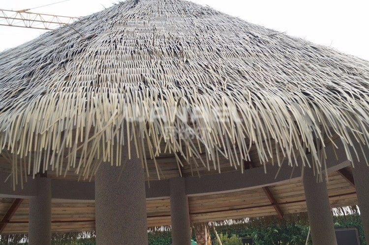 Waterproof High Quality Bamboo Synthetic Thatch Ready Made Cottage Houses