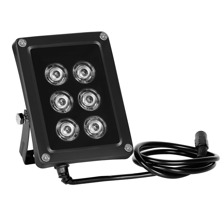 Professional Project-light Lamp Cast Light 60m 6pcs Array LEDS Illuminator Infrared IR Light