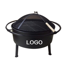 Outdoor garden barbecue heating fire pit