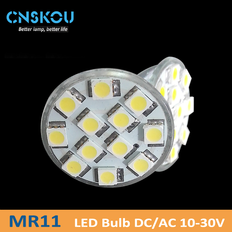 Cnskou smart LED lamp cup factory directly 5050 SMD small power 2W LED spotlights MR11 lamp cup