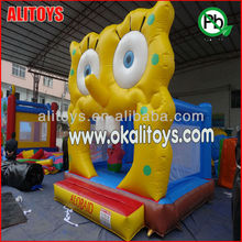 Inflatable octopus small bouncer for kindergarten inflatable bouncer castle pvc inflatable
