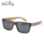 Custom Fashion China Brand Designer Big Frame FDA CE UV400 Polarized Wood Sunglass