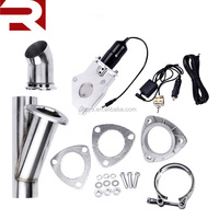 51mm System Remote Exhaust Catback Downpipe