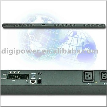 Rack mount power distribution unit smart PDU metered and switched PDU