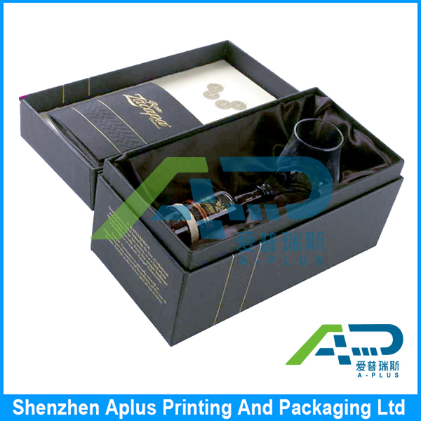 Luxury packing wine paper box, packing paper box, luxury paper box