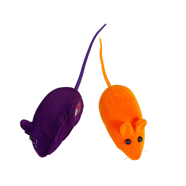 Wholesale Sound Mouse Animal Flocking Dog Toys For Pet