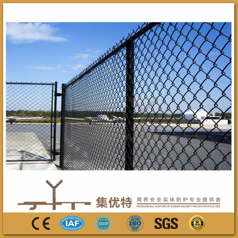 Applied for factory galvanized and PVC coated used chain link fence panels