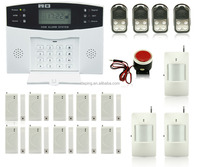 wireless digital home security gsm alarm system , burglar alarm