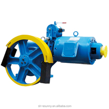 elevator part load 630kg gear elevator traction machine, roping 1:1, in thyssenkrupp elevator parts catalog
