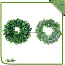 Holiday Decoration Green/2017 New Product is High Quality cheap christmas wreath