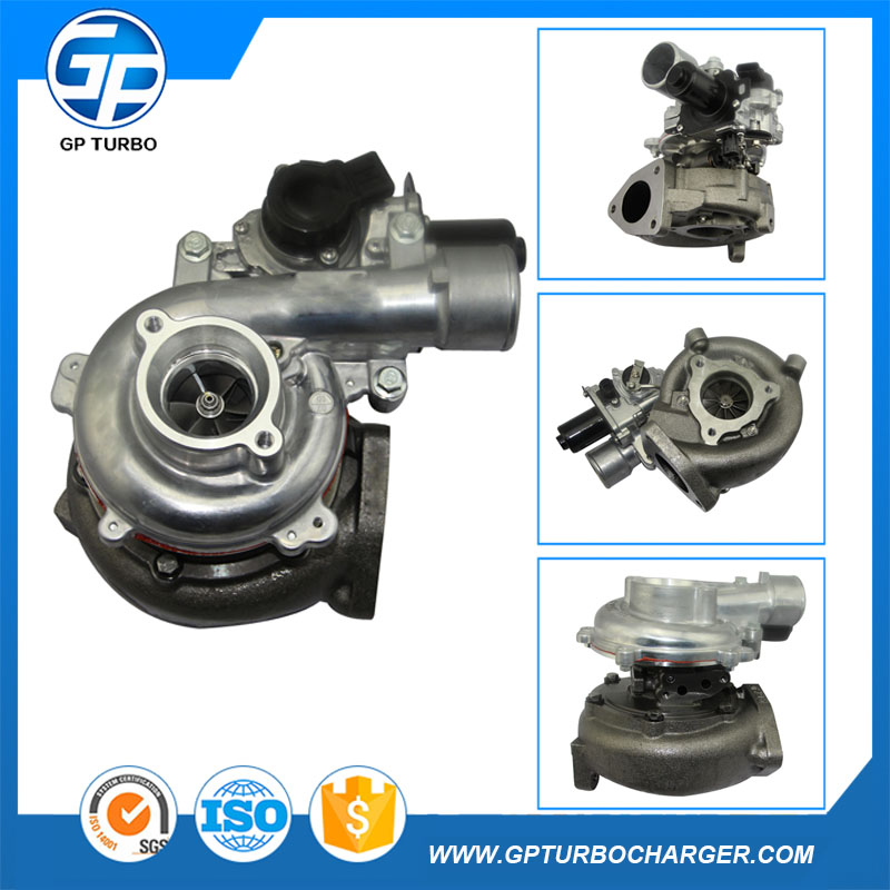 17201-0L040 Electric Auto Car Turbo Charger Kits Turbocharger CT16V For Sale Toyota Hilux SW4 and Land cruiser 1KD-FTV