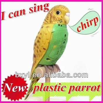 high imitation parrot/talking bird toys