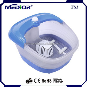 Ultrasonic foot massager electric high-quality plastic domestic foot spa tub