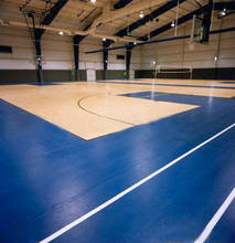 Soundproof basketball / volleyball court vinyl sport flooring